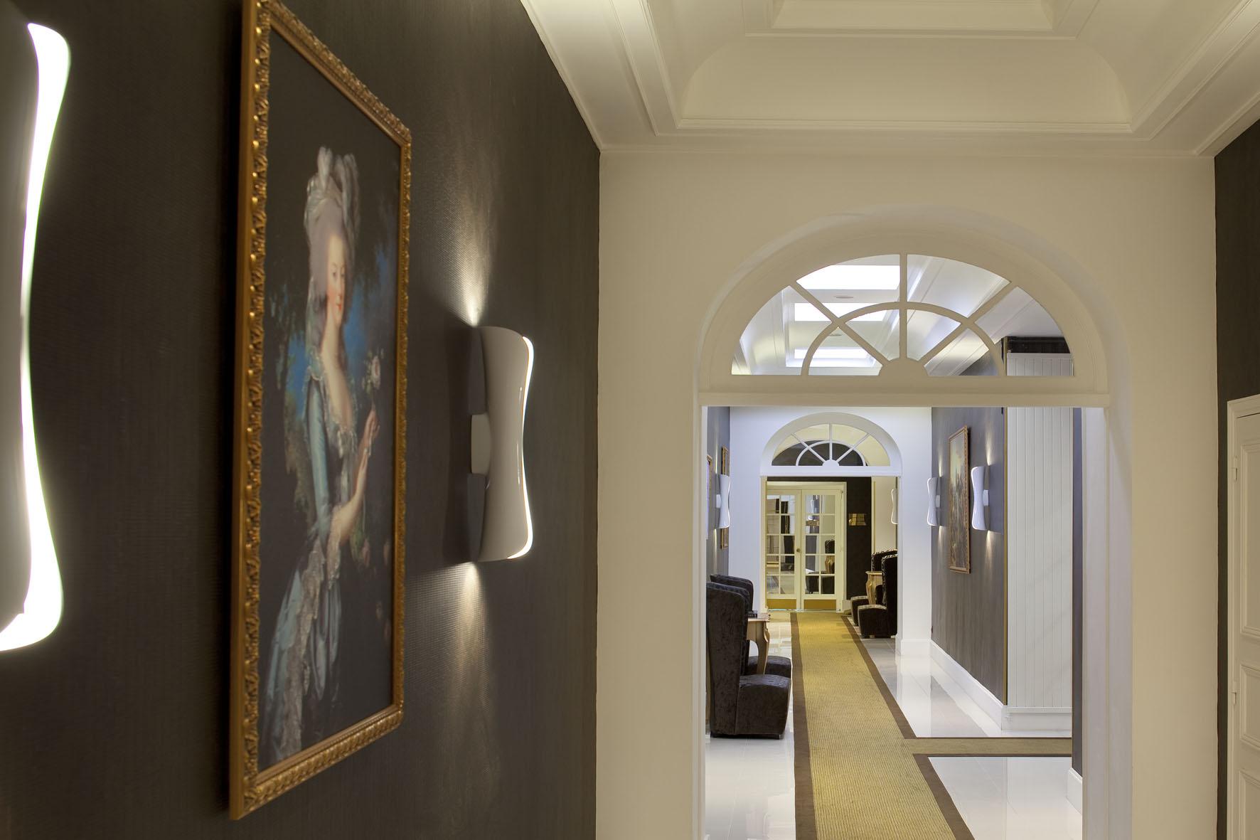 Rénovation couloir  Hotel étoile Saint honoré