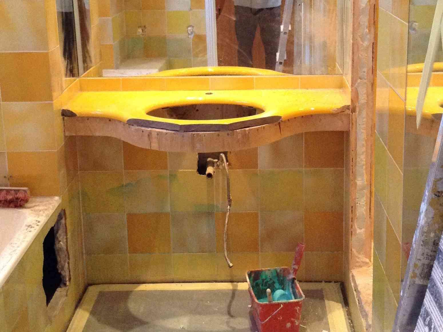 Rénovation salle de bains Hotel