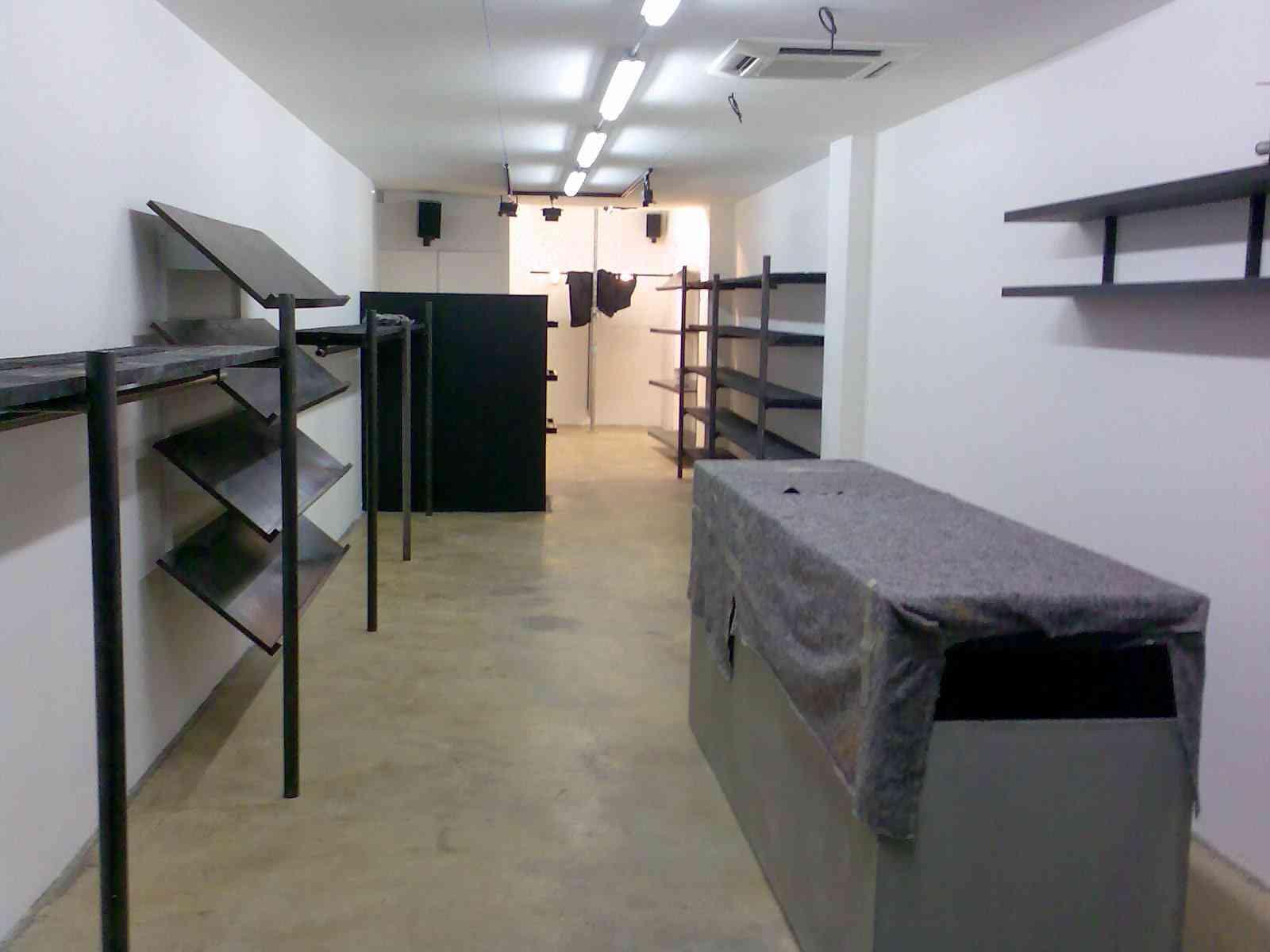 Rénovation complète boutique